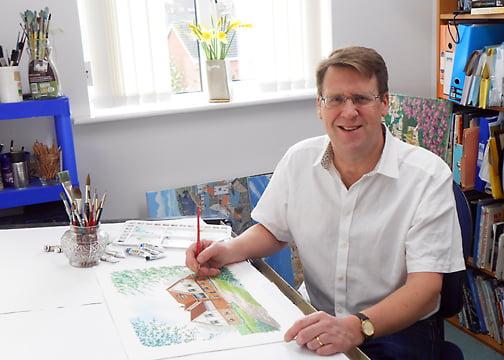 Alan Rolfe Artist and Illustrator