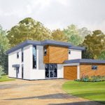 004 modern house
