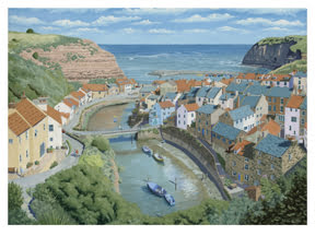 Alan Rolfe Sheffield Artist Staithes