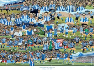 Alan Rolfe Sheffield Wednesday Print