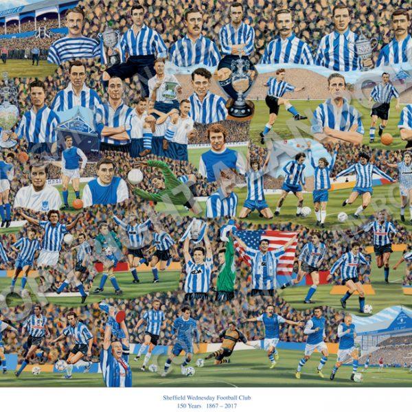 Alan Rolfe Sheffield Wednesday Print WEB